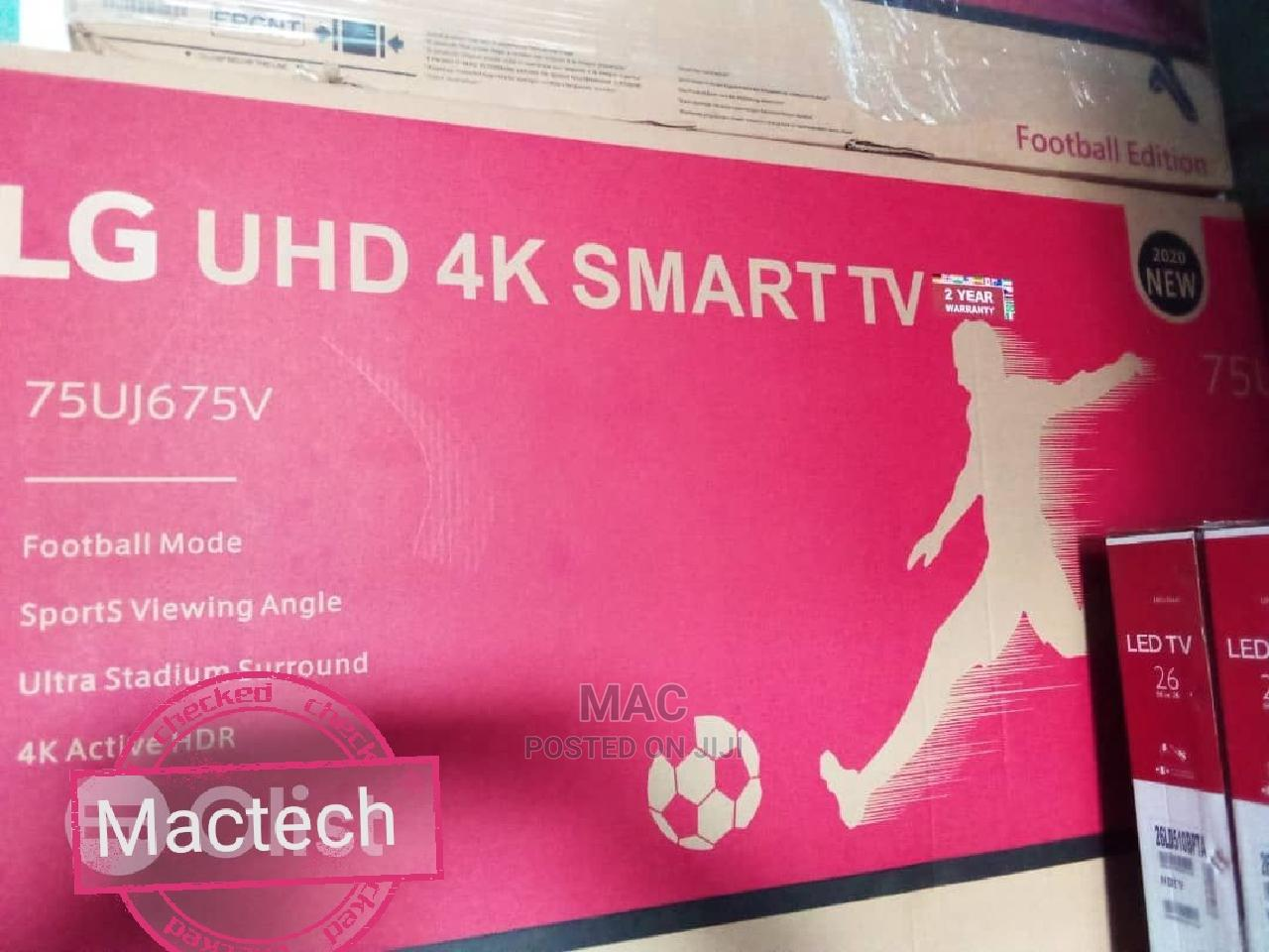 Archive: 75 Inches LG Smart 4k Webos/Android Tv