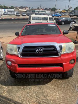 Toyota Tacoma 2006 Regular Cab Red | Cars for sale in Lagos State, Ojodu