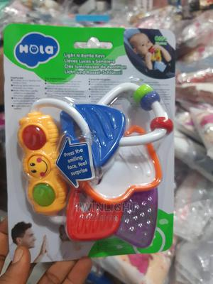 Hola Light and Rattle Key | Toys for sale in Lagos State, Mushin