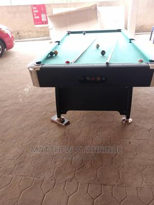 8 Feet Foreign Snooker Board With Complete Accessories | Sports Equipment for sale in Lagos State, Yaba