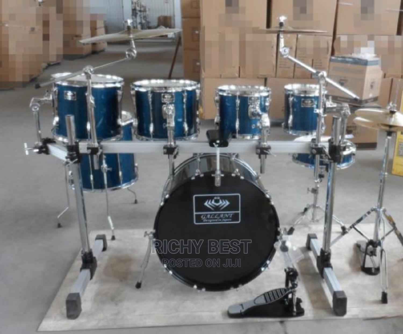 Full 7 PC Gallant Rack Drum Set