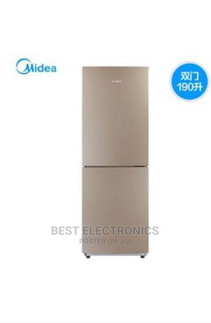 Midea Double Door Refrigerator 190L | Kitchen Appliances for sale in Abuja (FCT) State, Kubwa