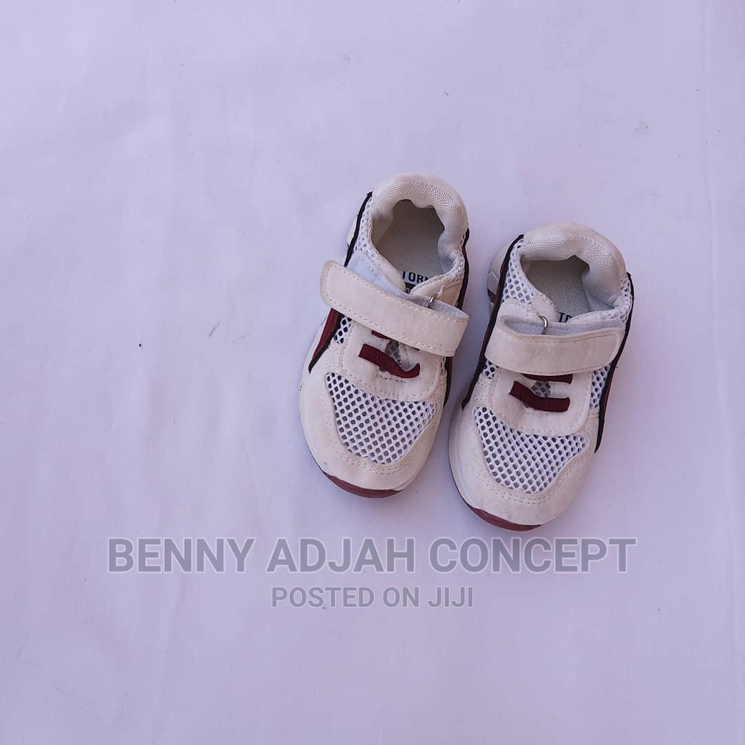 Archive: Beautiful White and Wine Shoes for Male Child
