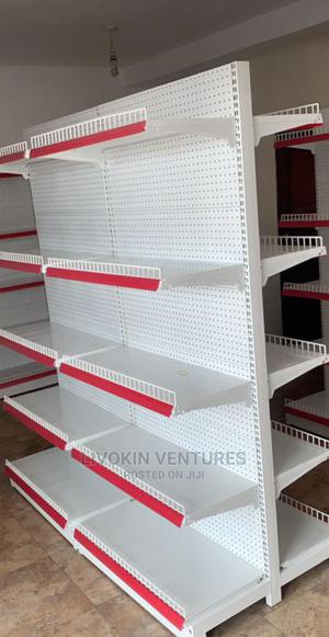 HIGH QUALITY Supermarket Shelf Double Face   Store Equipment for sale in Lagos State, Ojo