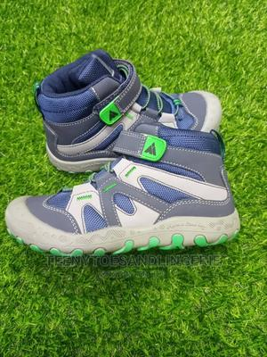 Blue and Ash High Top Sneakers   Children's Shoes for sale in Lagos State, Lagos Island (Eko)