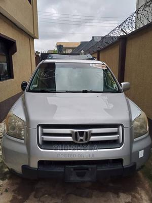 Honda Pilot 2006 EX-L 4x4 (3.5L 6cyl 5A) Silver | Cars for sale in Lagos State, Alimosho