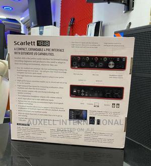 Focusrite Scarlett 18i8 (3rd) USB   Audio & Music Equipment for sale in Lagos State, Ojo