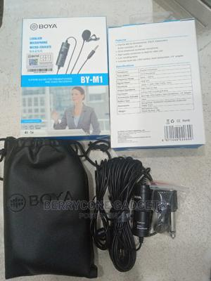 Boya Lavalier Microphone BY-M1   Audio & Music Equipment for sale in Lagos State, Ikeja