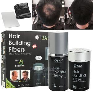 Dexe Hair Building Fiber Hair Locking Spray   Hair Beauty for sale in Lagos State, Agboyi/Ketu