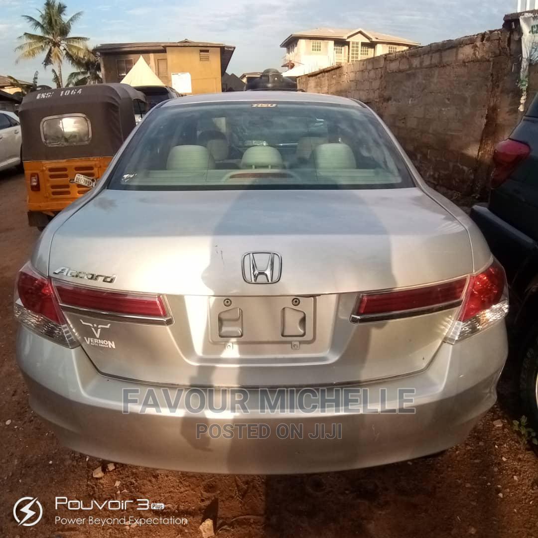 Honda Accord 2012 Silver