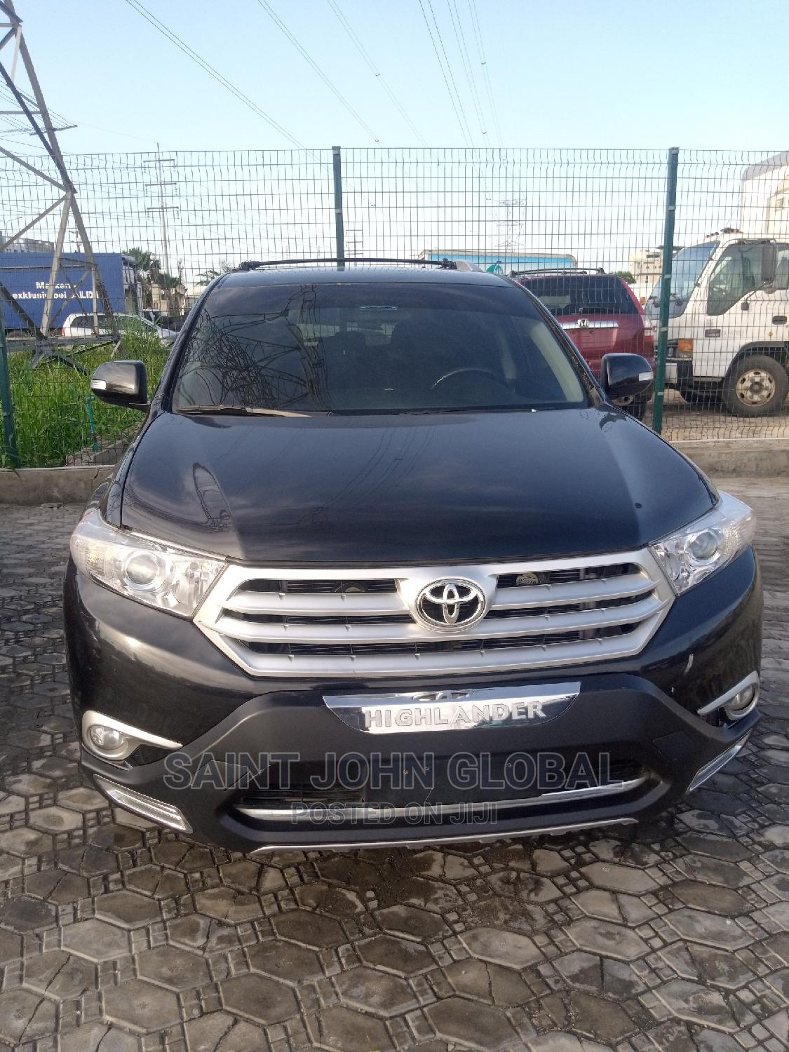 Toyota Highlander 2008 Limited Black   Cars for sale in Victoria Island, Lagos State, Nigeria