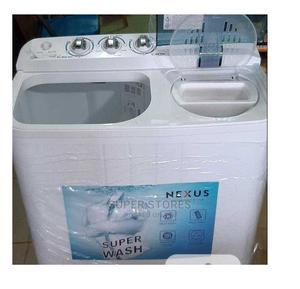 8.5KG Semi-Auto Twin-Tub W/M NX-WM85SA -Nexus Jul 12   Home Appliances for sale in Lagos State, Alimosho