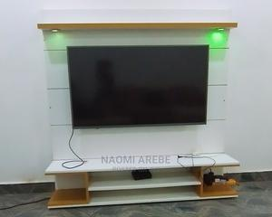 White TV Stand   Furniture for sale in Abuja (FCT) State, Karmo