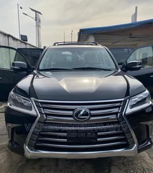 Lexus LX 2017 570 Base Black | Cars for sale in Lagos State, Victoria Island