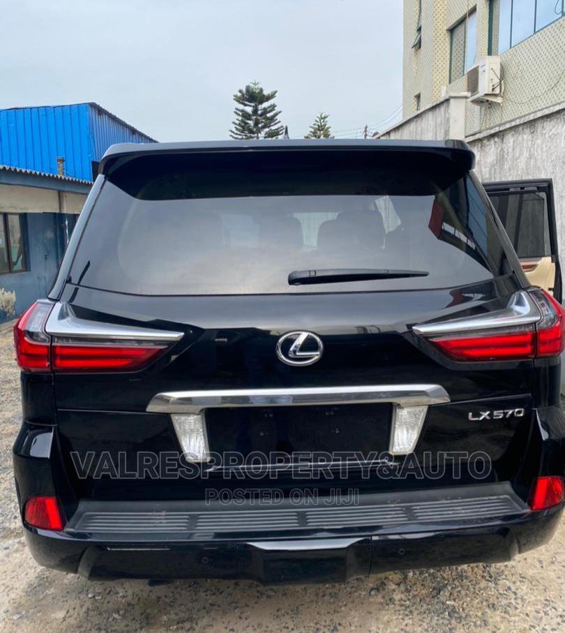 Lexus LX 2017 570 Base Black | Cars for sale in Victoria Island, Lagos State, Nigeria