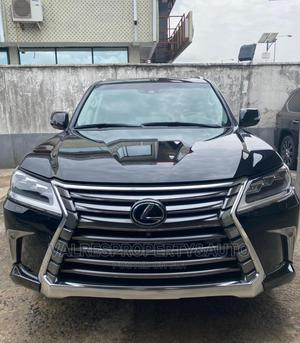 Lexus LX 2015 570 Base Black | Cars for sale in Lagos State, Victoria Island