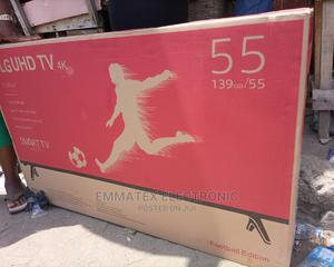 Smart TV LG 55 Inches | TV & DVD Equipment for sale in Lagos State, Surulere