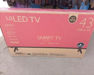 LG LED TV 43 Inches Smart TV | TV & DVD Equipment for sale in Lagos State, Maryland