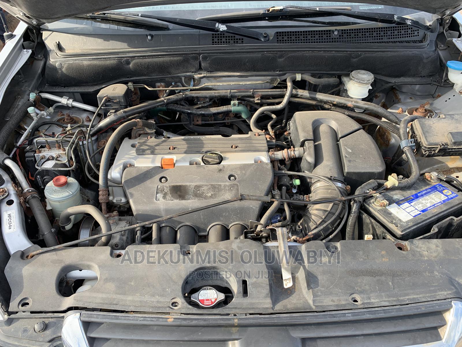 Honda CR-V 2004 EX 4WD Automatic Silver   Cars for sale in Ojodu, Lagos State, Nigeria