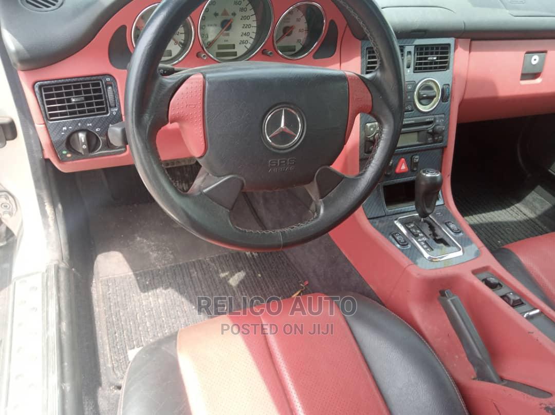 Mercedes-Benz SLK Class 2003 Black