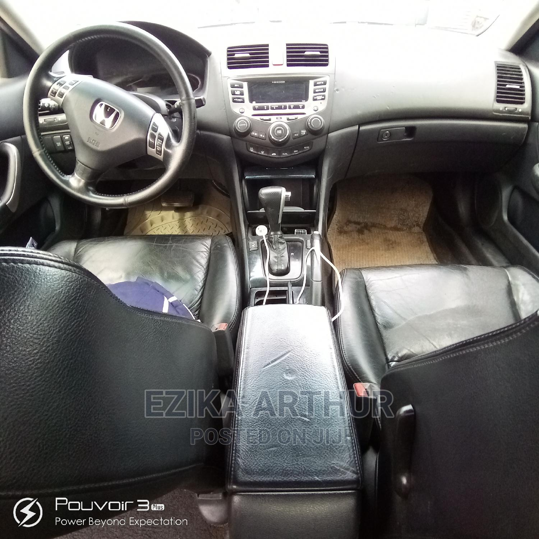 Honda Accord 2007 2.0 Comfort Silver   Cars for sale in Enugu, Enugu State, Nigeria