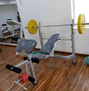 Weight Bench With 50kg Dumbells   Sports Equipment for sale in Abuja (FCT) State, Wuse