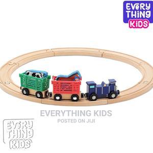 Melissa Doug Farm Animal Wooden Train Set (12+ Pcs) | Toys for sale in Lagos State, Ikeja