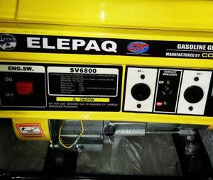 Elepaq Sv6800 3.5kva Generator   Electrical Equipment for sale in Lagos State, Ojo