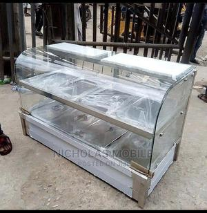 Bain Marie 5 Plates Curved Glass | Restaurant & Catering Equipment for sale in Lagos State, Victoria Island