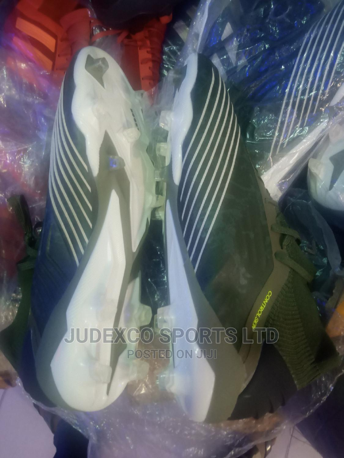 Original Adidas Leather Control Skin Ankel Boot   Sports Equipment for sale in Surulere, Lagos State, Nigeria