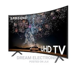 "Samsung 49"" Curved 4K RU7300 Ultra Slim Smart TV With | TV & DVD Equipment for sale in Lagos State, Lekki"
