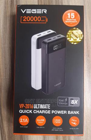 Veger Power Bank 20000 Mah   Accessories for Mobile Phones & Tablets for sale in Lagos State, Ikeja