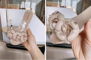 Super Stylish Chanel Jelly Slippers Sandal   Shoes for sale in Lagos State, Lekki