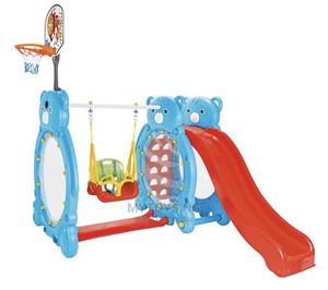 Outdoor Swing, Slide and Basketball for Age 4 - 12years Old | Toys for sale in Lagos State, Yaba