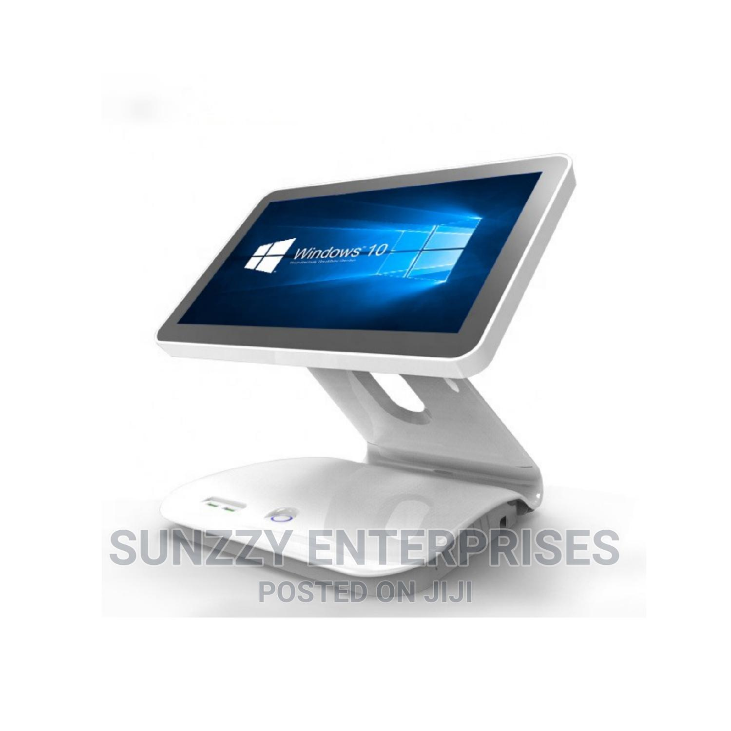 Sleek Single Screen Point of Sales (POS) Touch System