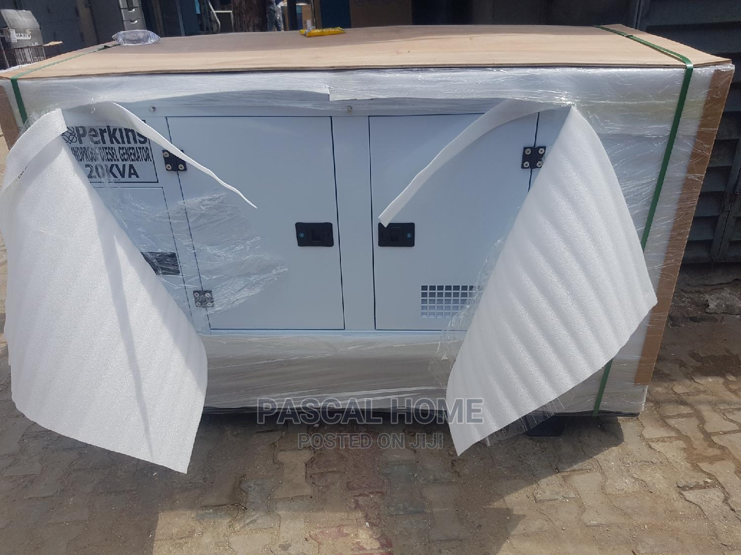 Perkins 20kva Soundproof Generator   Electrical Equipment for sale in Ojo, Lagos State, Nigeria