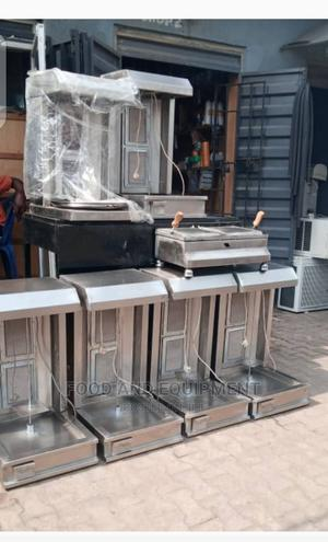 2 Burner Shawarma Machine and Toaster | Restaurant & Catering Equipment for sale in Lagos State, Yaba