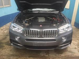 BMW X5 2014 Gray   Cars for sale in Lagos State, Amuwo-Odofin