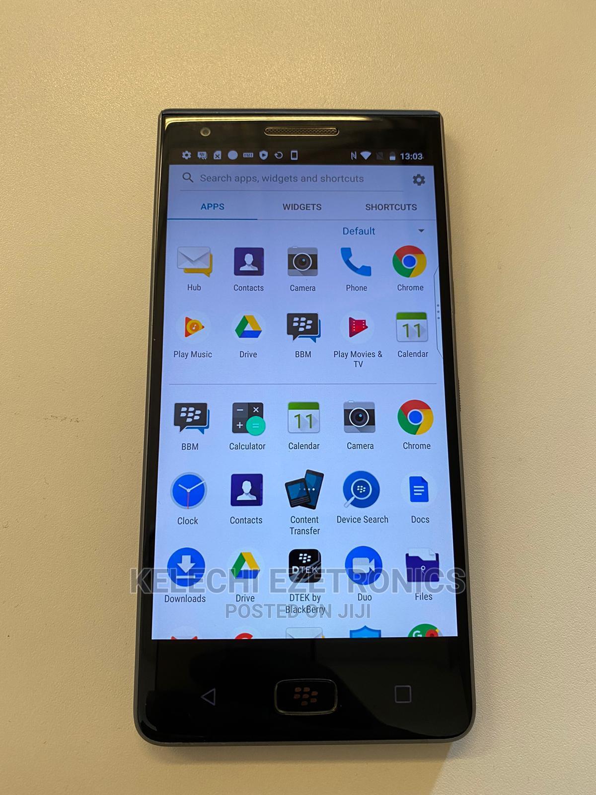 BlackBerry Motion Dual SIM 32 GB Black