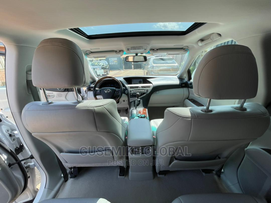 Lexus RX 2010 350 White | Cars for sale in Abule Egba, Lagos State, Nigeria