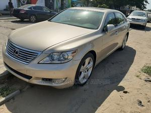 Lexus LS 2012 Gold   Cars for sale in Lagos State, Amuwo-Odofin