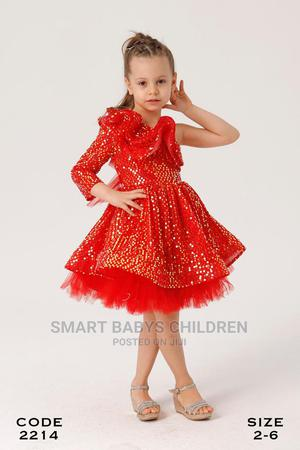 Beautiful Red Sequence Gown   Children's Clothing for sale in Lagos State, Lagos Island (Eko)