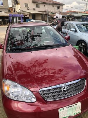 Toyota Corolla 2005 LE Red   Cars for sale in Lagos State, Alimosho