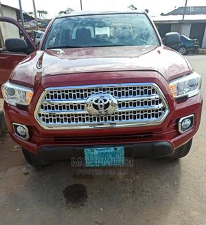 Toyota Tacoma 2010 Double Cab V6 Automatic Red | Cars for sale in Rivers State, Port-Harcourt