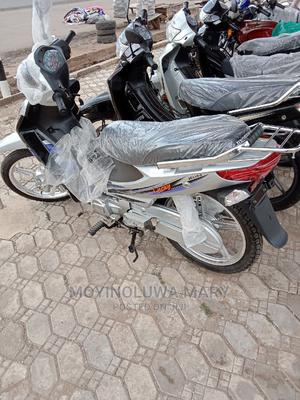 New Jincheng JC 110-9 2019 Silver | Motorcycles & Scooters for sale in Oyo State, Akinyele