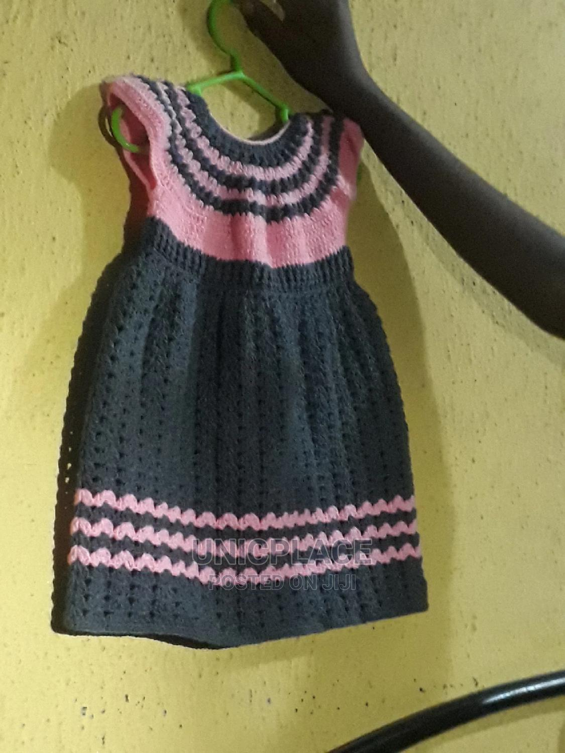 Archive: Hand Knitted Baby Gown