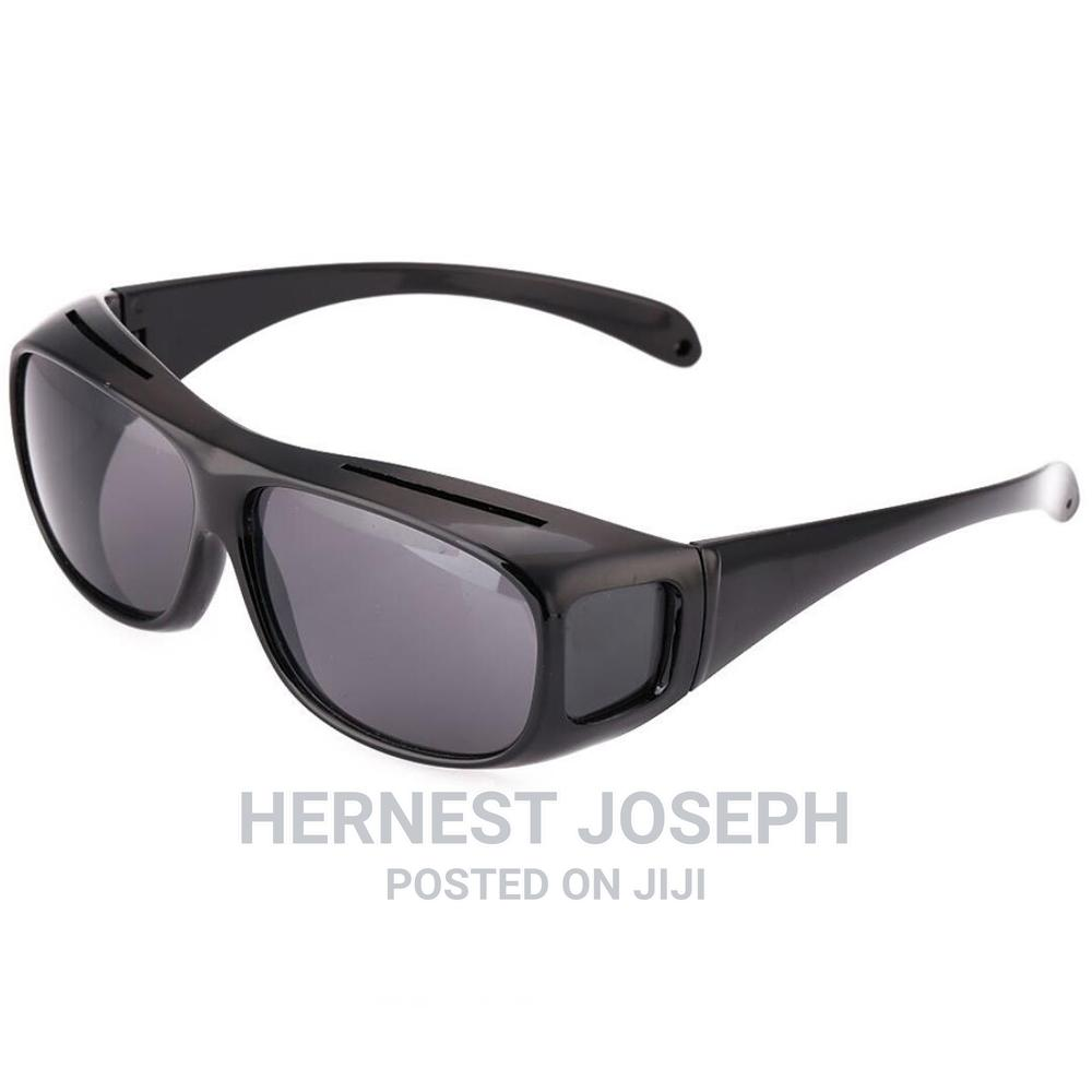Archive: 2-In-1 HD Night Vision Polarized Unisex Driving Glasses