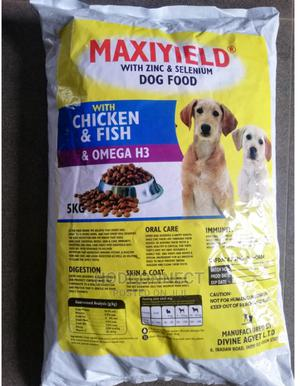 Maxiyield Dry Food | Pet's Accessories for sale in Osun State, Osogbo