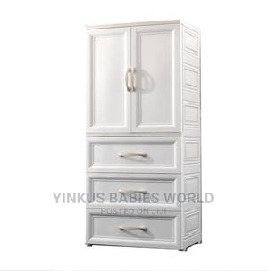 White Baby Wardrobe | Children's Furniture for sale in Lagos State, Lagos Island (Eko)