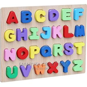 Wooden Alphabet Puzzle Board | Toys for sale in Lagos State, Surulere